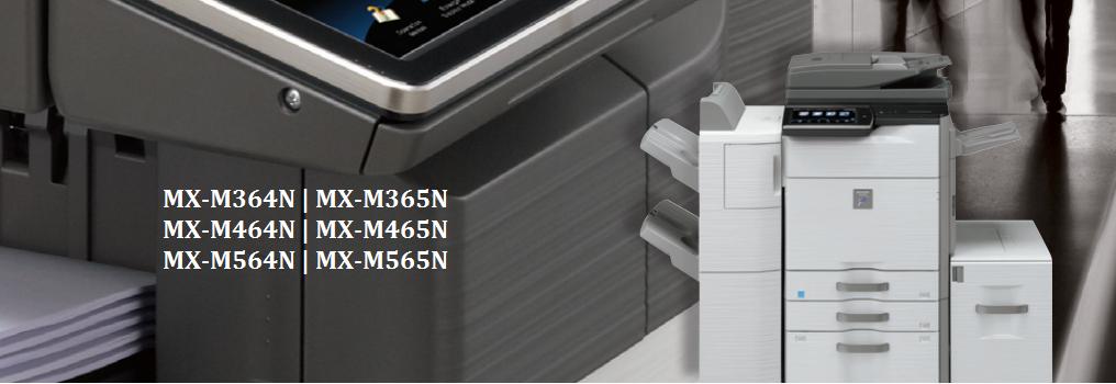 Sharp MX-M364 365 464 465 564 565