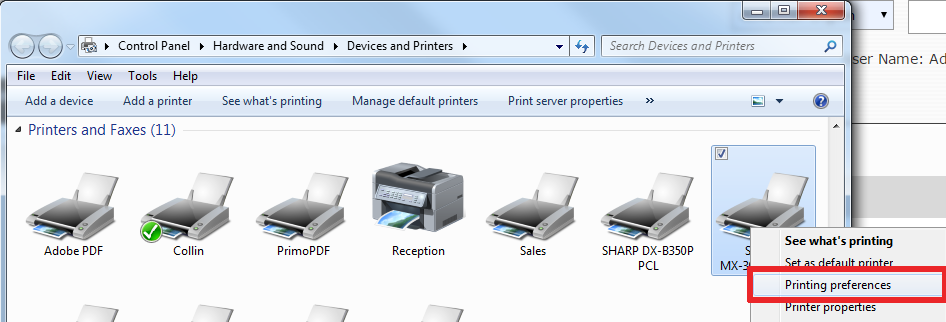 How To Setup User Control on Sharp Copier 12
