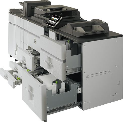 equipmybiz.com copier sales lease Houston, Sharp MX-M905 paper source options