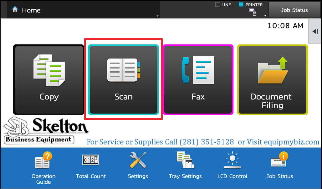 Sharp Business Card Scanner And Multicrop Skelton Business Equipment