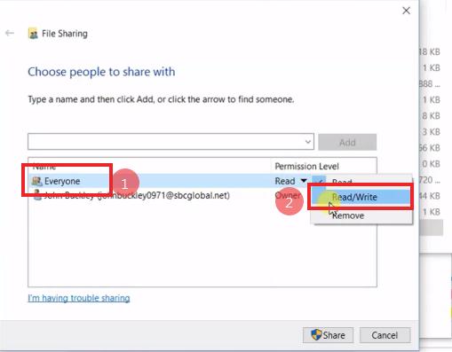 How To Setup Scan to Folders Windows 10 Sharp Copier Scanner 12