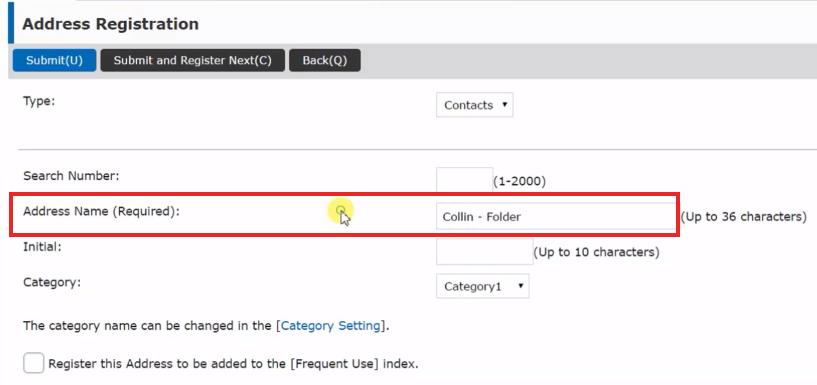 How To Setup Scan to Folders Windows 10 Sharp Copier Scanner 17