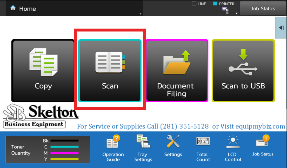 How To Scan to Sharp Copier Hard Drive and Retrieve