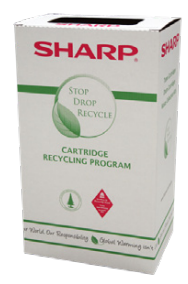 Sharp toner recycling program