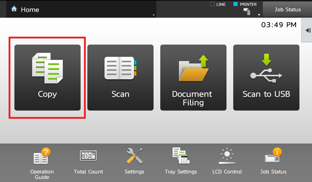 Send and Print DIY instructions for a Sharp Copier Printer Scanner